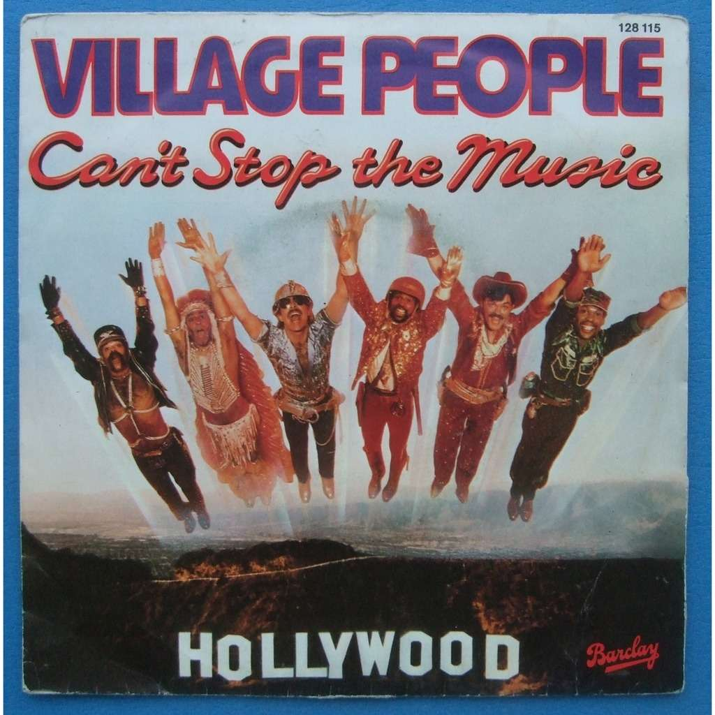 VILLAGE PEOPLE CAN' T STOP THE MUSIC / MILKSHAKE