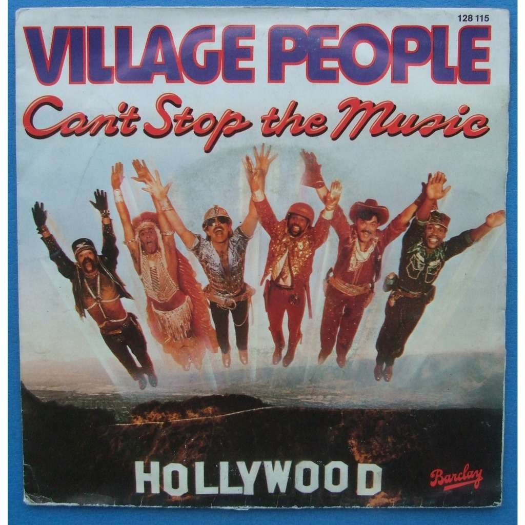 VILLAGE PEOPLE CAN' T STOP THE MUSIC / MILKSHAKE