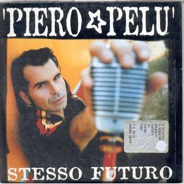 Litfiba / Piero Pelu' Stesso futuro (Italian 2003 1-trk promo CD unique card ps)