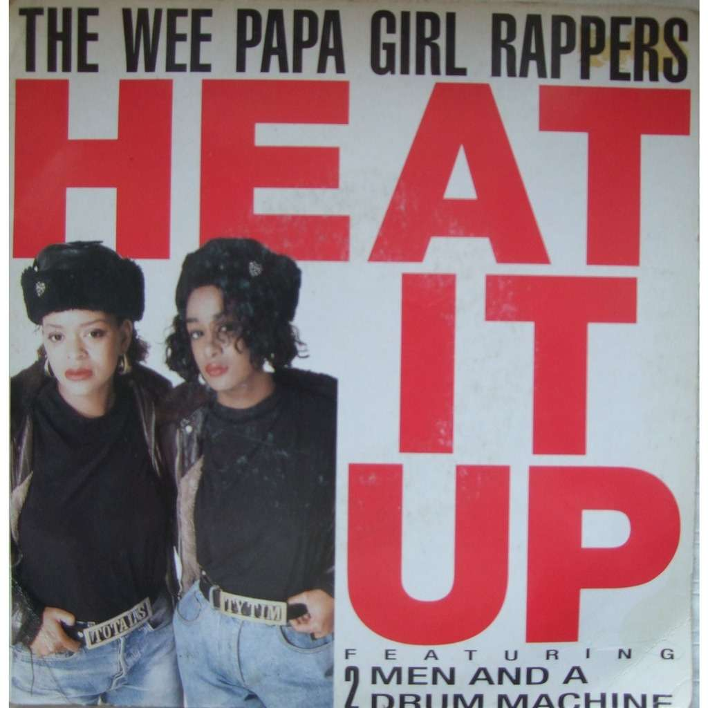 the wee papa girl rappers heat it up /flaunt it