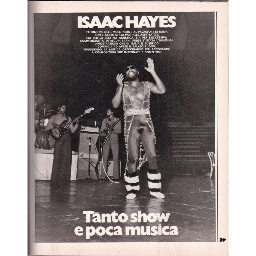Isaac Hayes Ciao 2001 (04.02.1973) (Italian 1973 music magazine magazine)