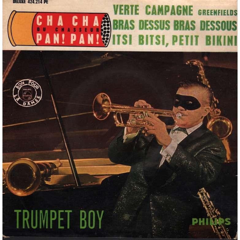 Trumpet Boy Cha cha pan pan (du chasseur) - Itsi bitsi petit bikini / verte campagne - bras dessus, bras dessous