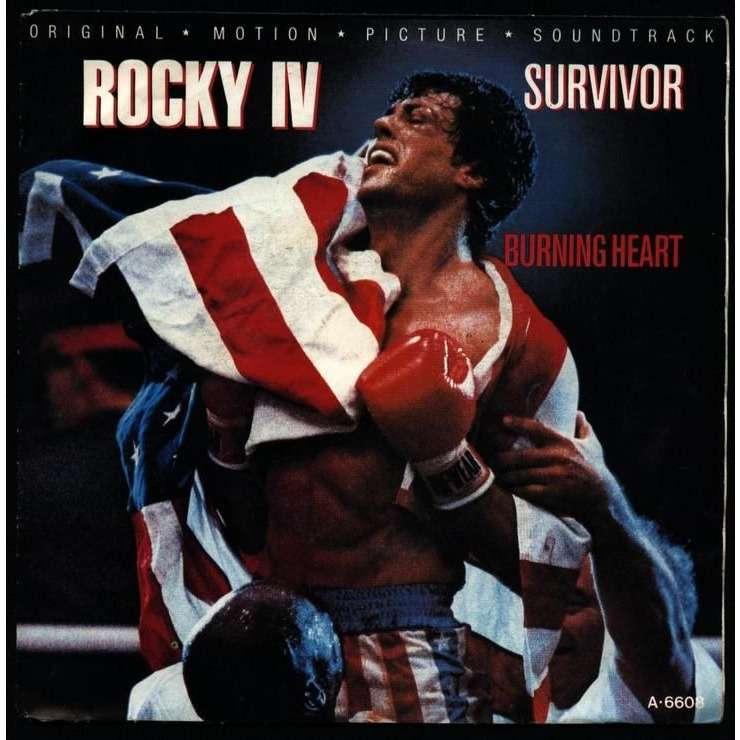 survivor burning heart rocky 4 IV burning heart/ feels like loverocky 4 IV burning heart