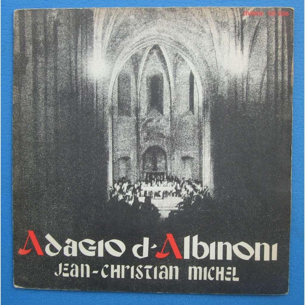 Jean Christian Michel adagio d'albinoni - aria de la suite en ré