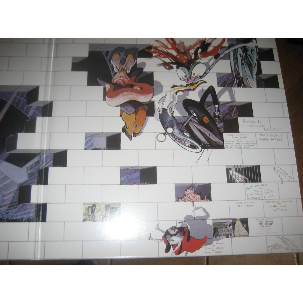 Pink Floyd-The Wall - The Wall - Pink Floyd - LP