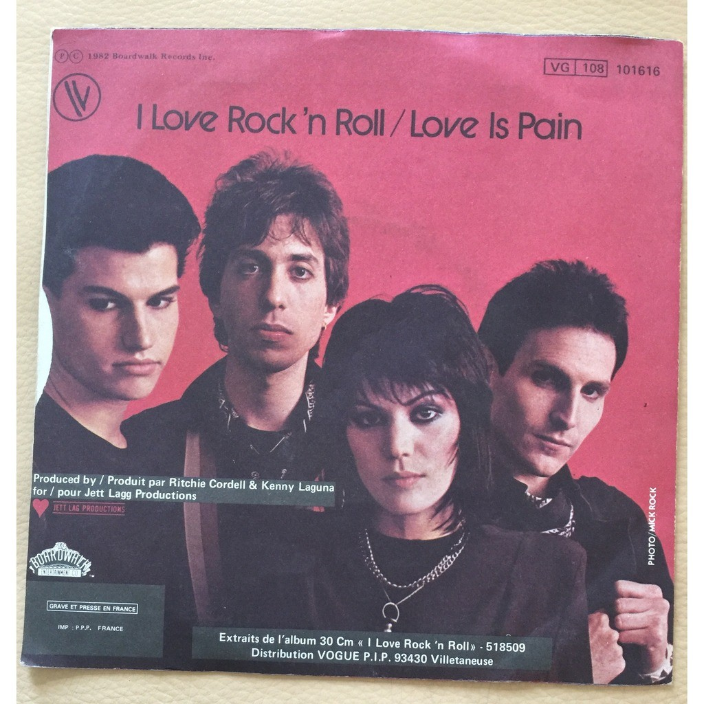 I Love Rock N Roll De Joan Jett And The Blackhearts Sp