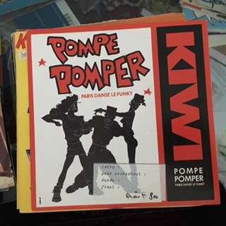 Kiwi Pompe, pomper ( Paris danse le funky ) - Instrumental