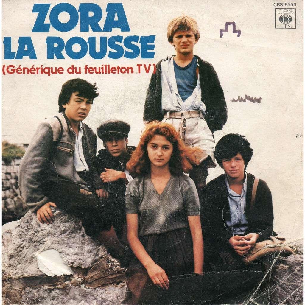 Christian Bruhn & Pierre Carrel Zora La Rousse Soundtrack (Zora la Rousse + Instrumental)