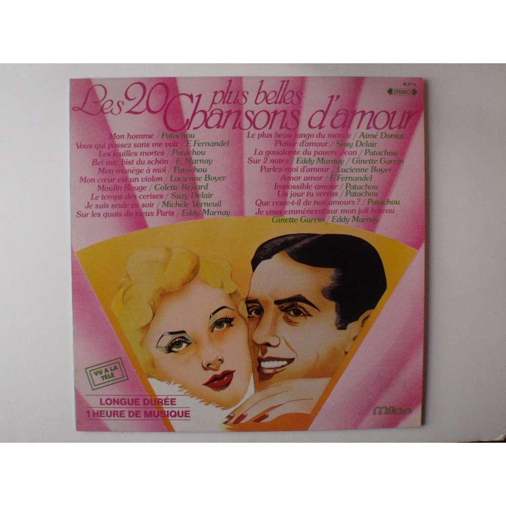 Various Artists Les 20 Plus Belles Chansons D Amour