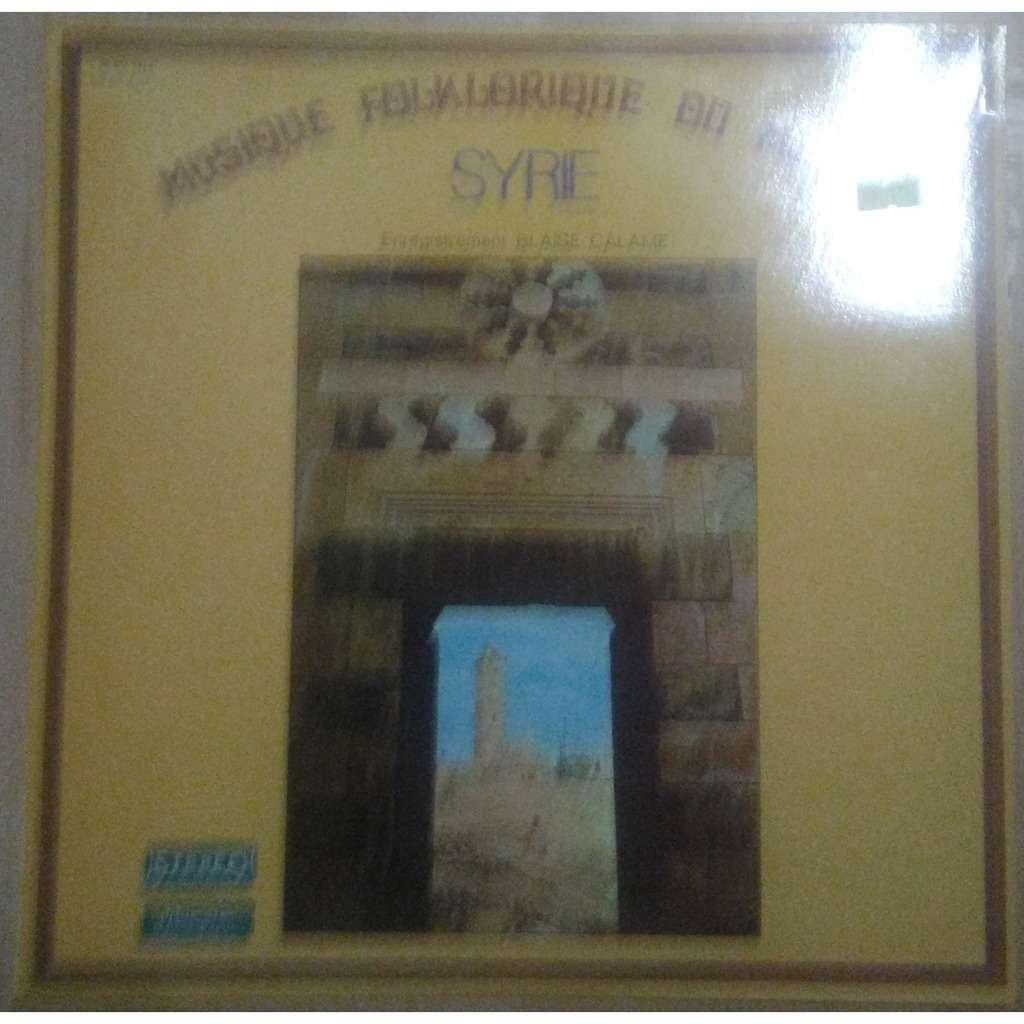 blaise calame musique folklorique du monde - syrie
