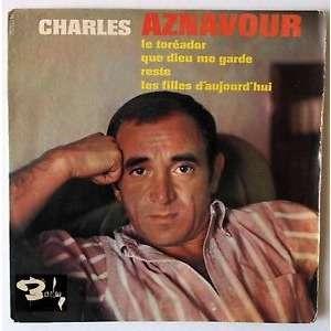 45 tours charles aznavour le toreador 45 tours charles aznavour le toreador