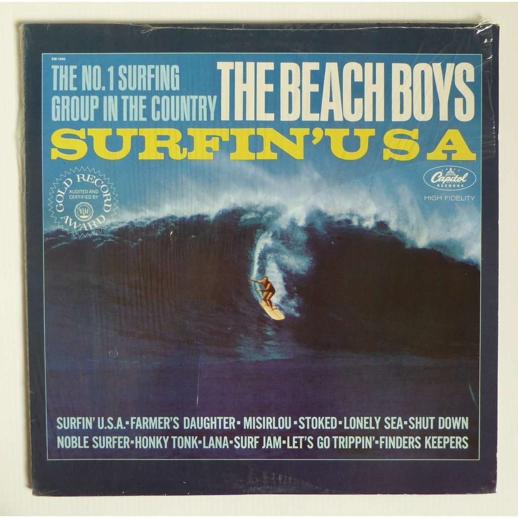 Beach Boys Surfin Usa Pop Surf Rock