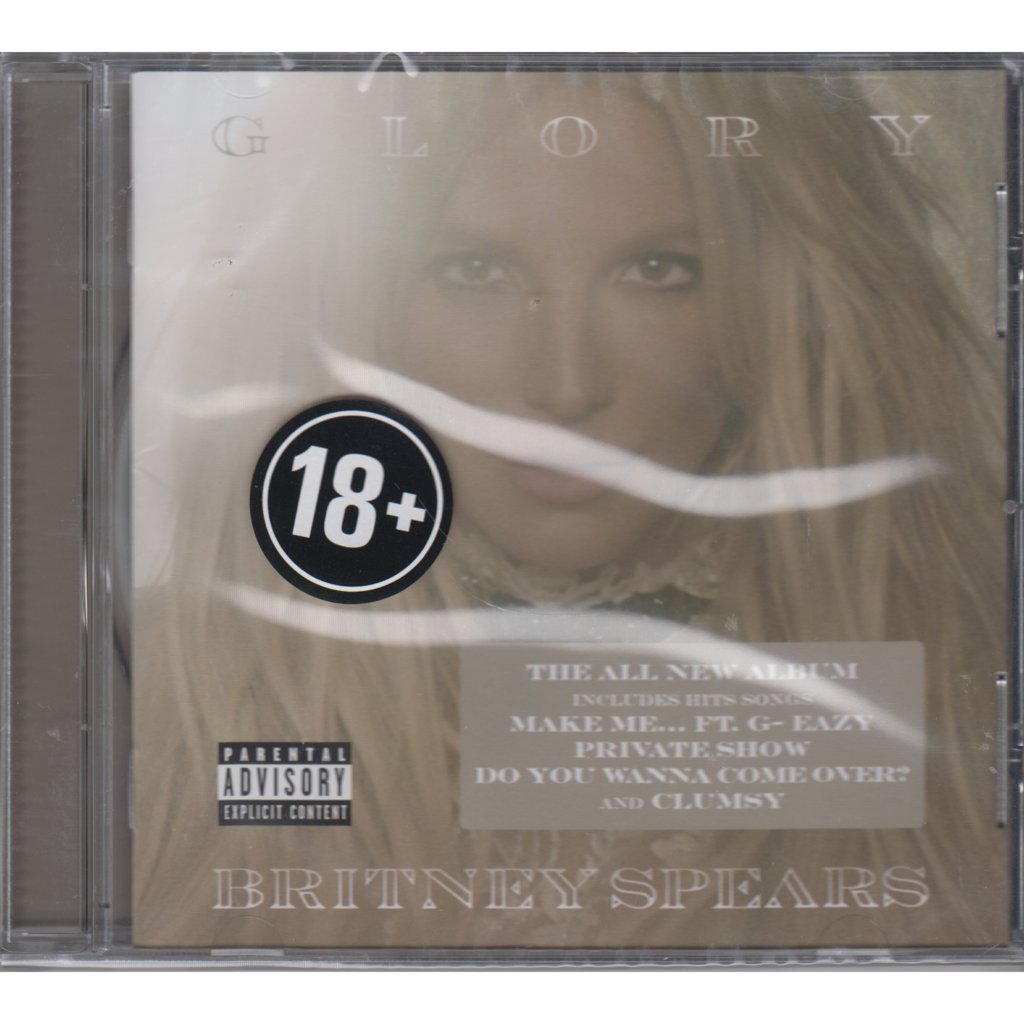 Britney Spears Glory Warner Music Russia CD NEW 2016