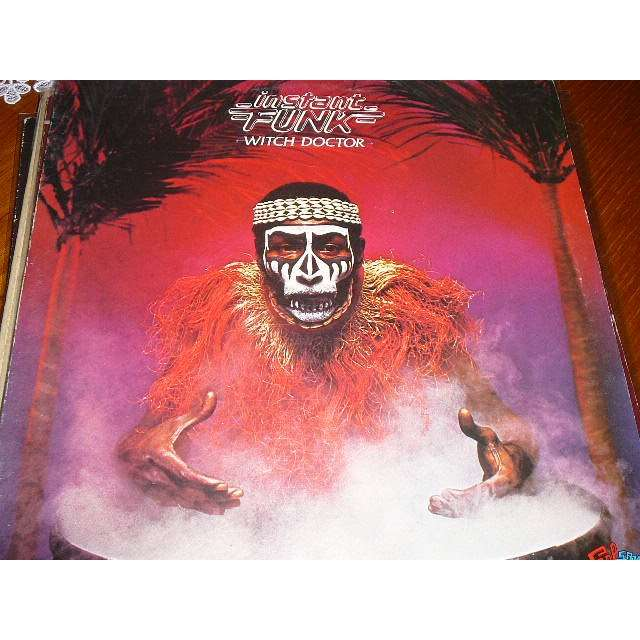 Instant Funk Witch Doctor : Witch doctor by instant funk lp with bruno ref