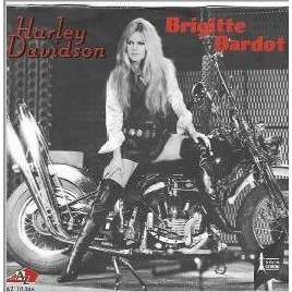 Brigitte Bardot / Serge Gainsbourg Harley Davidson / Contact