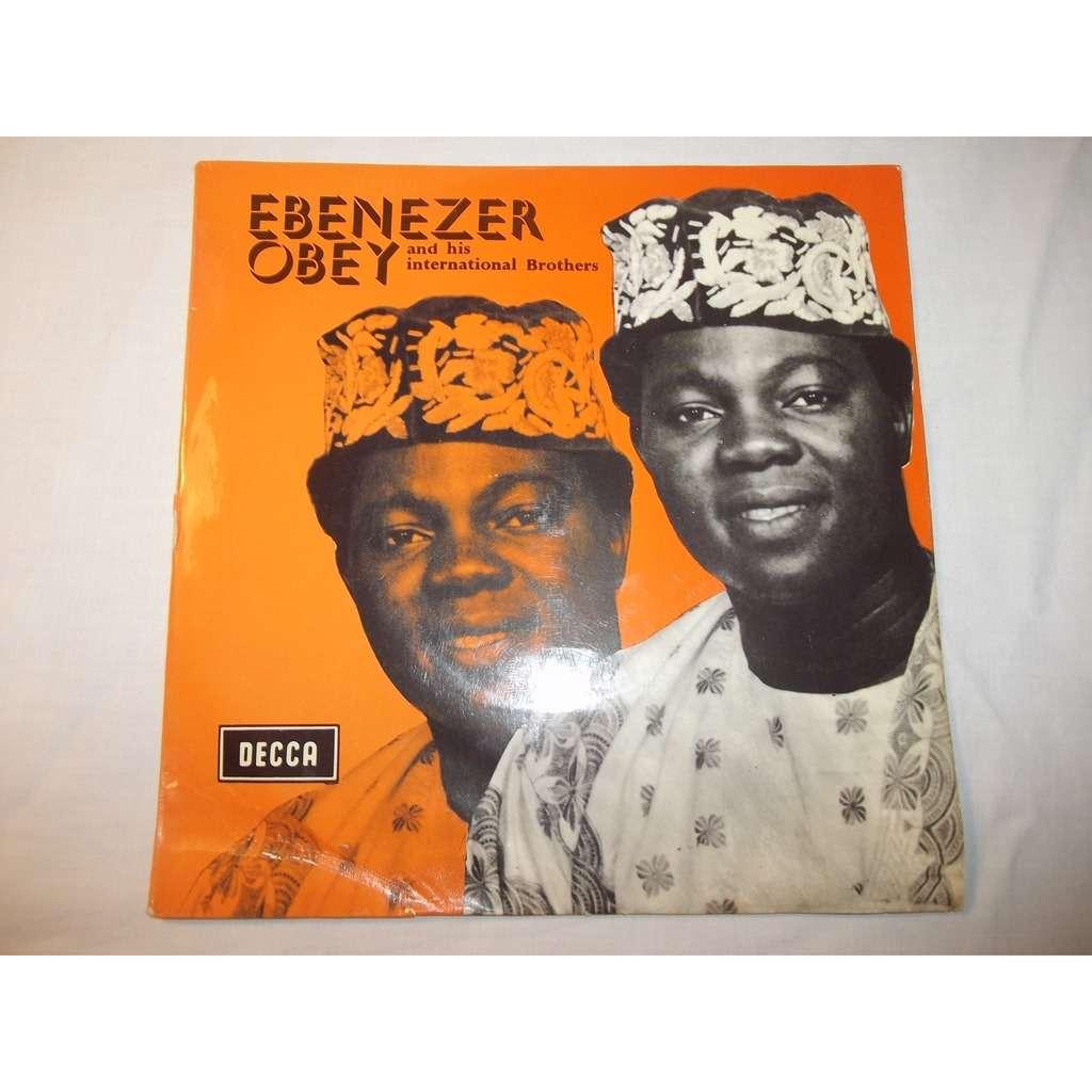 Chief Commander Ebenezer Obey Oro nipa lace- Yaro malaika
