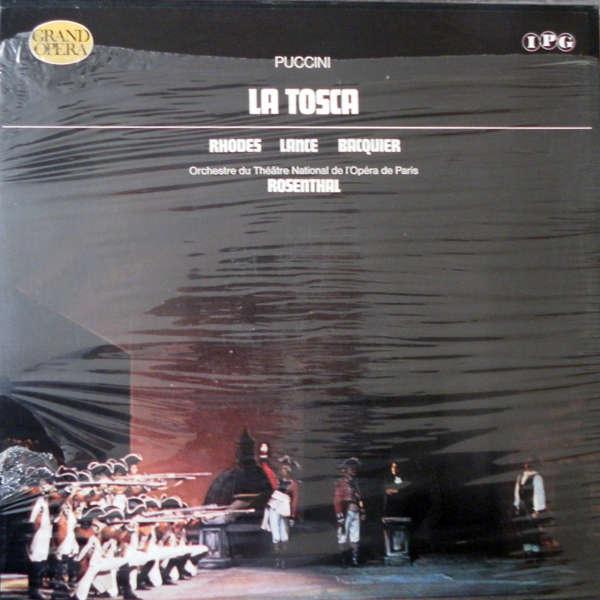 Manuel Rosenthal Puccini :La Tosca