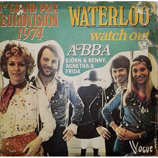 Waterloo By Abba Sp With Lamjalil Ref 118328213