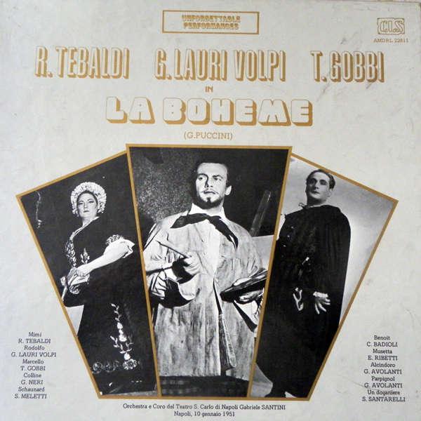 renata tebaldi Puccini :La bohème