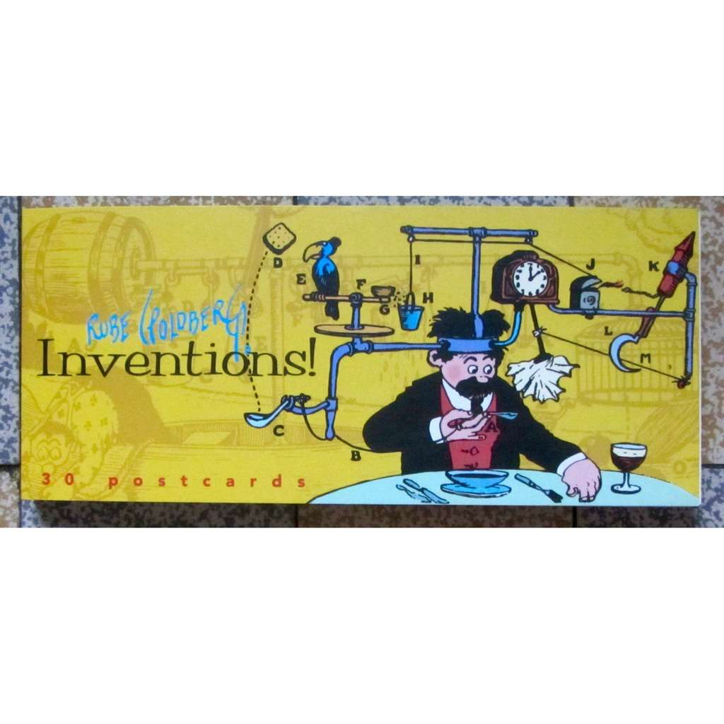 Postcards Inventions!: 30 Rube Goldberg Postcards