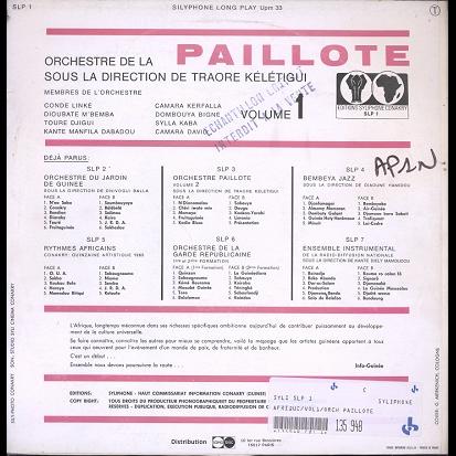 Orchestre Paillote Vol.1