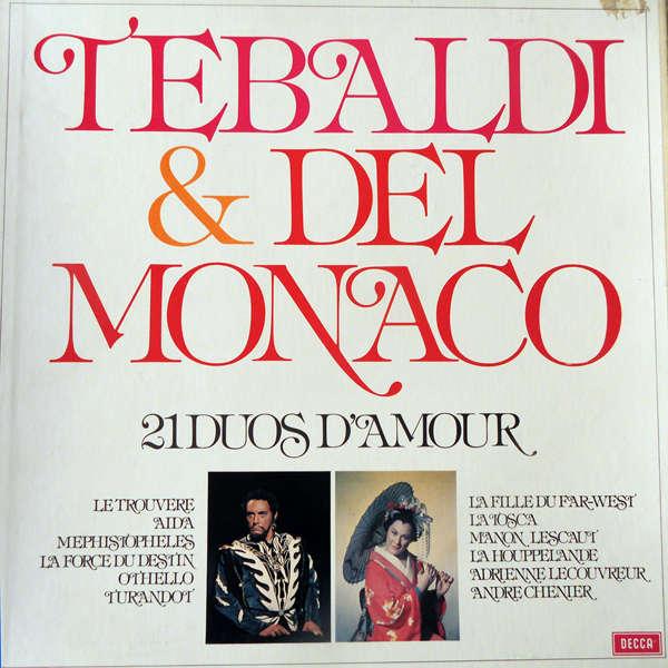 Tebaldi & Del Monaco 21 duos d'amour