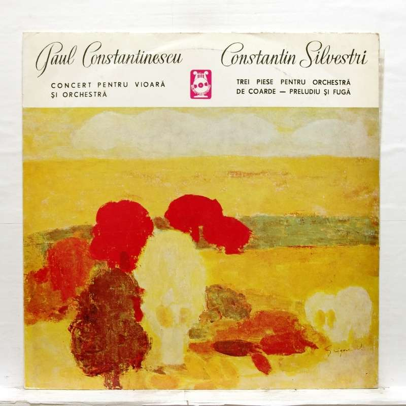 Stefan Ruha Constantinescu : Concerto for violin & orchestra / Silvestri :  3 pieces for string orchestra