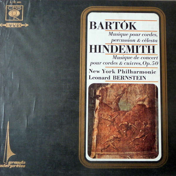 leonard bernstein / new york philharmonic Bartok - Hindemith