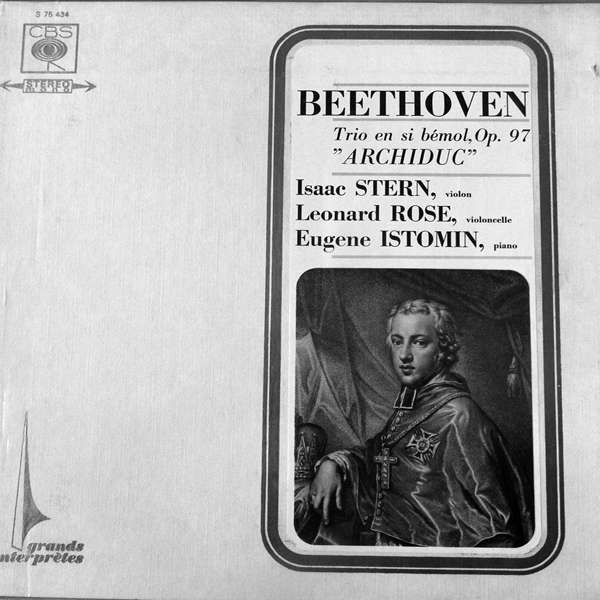 Trio Stern-Rose - Istomin Beethoven