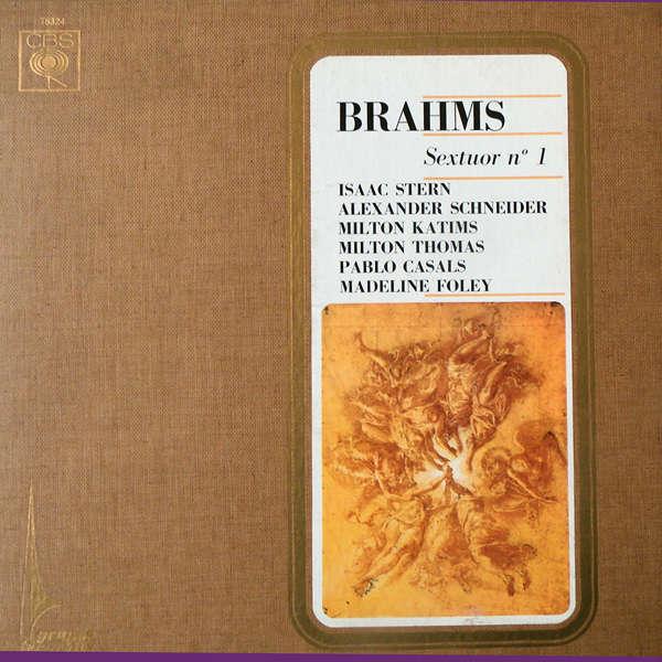 Isaac Stern Brahms - Sextuor n°1