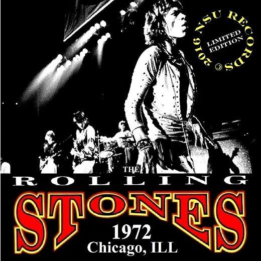 the rolling stones LIVE CHICAGO, ILL 1972 06.20 LTD CD