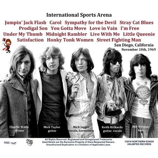 Live San Diego Sports Arena 1969 Nov 10th Ltd Cd By The
