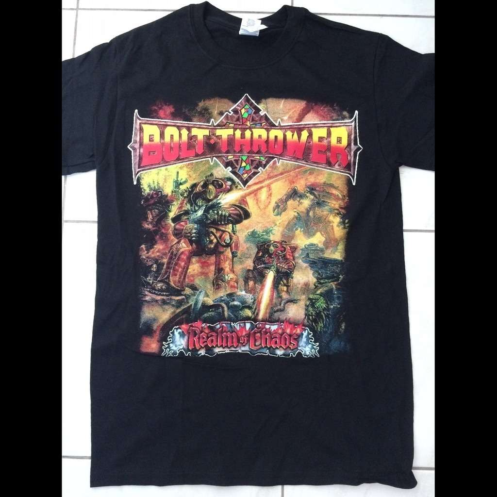 fafbd82eed3b5 BOLT THROWER realm of chaos, T-SHIRT for sale on osmoseproductions.com