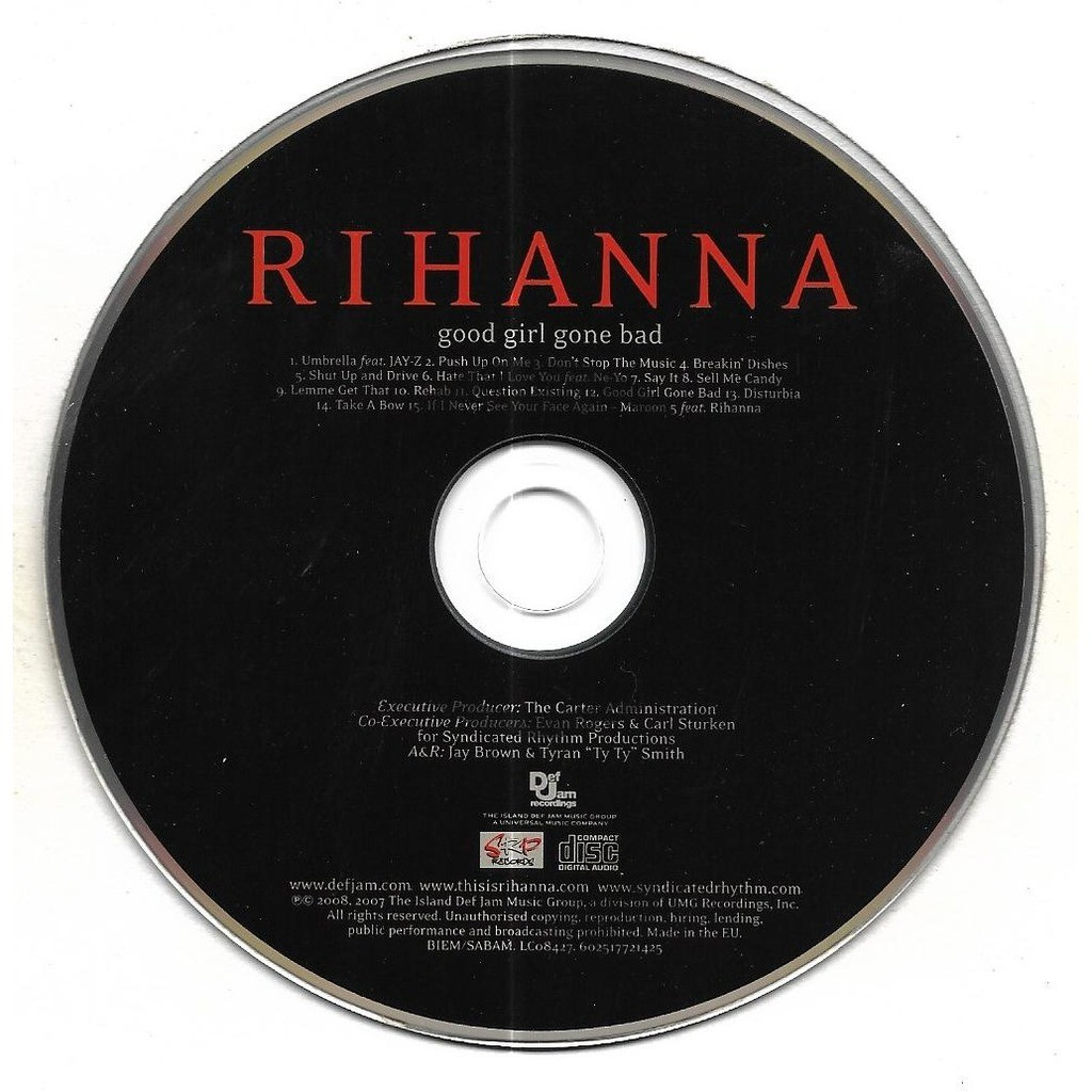 good girl gone bad and date 《good girl gone bad》rihanna genre:pop release date:june 5,2007 rates:8/10 01 umbrella feat jay-z 02 push up on me 03 don't stop the music 04.