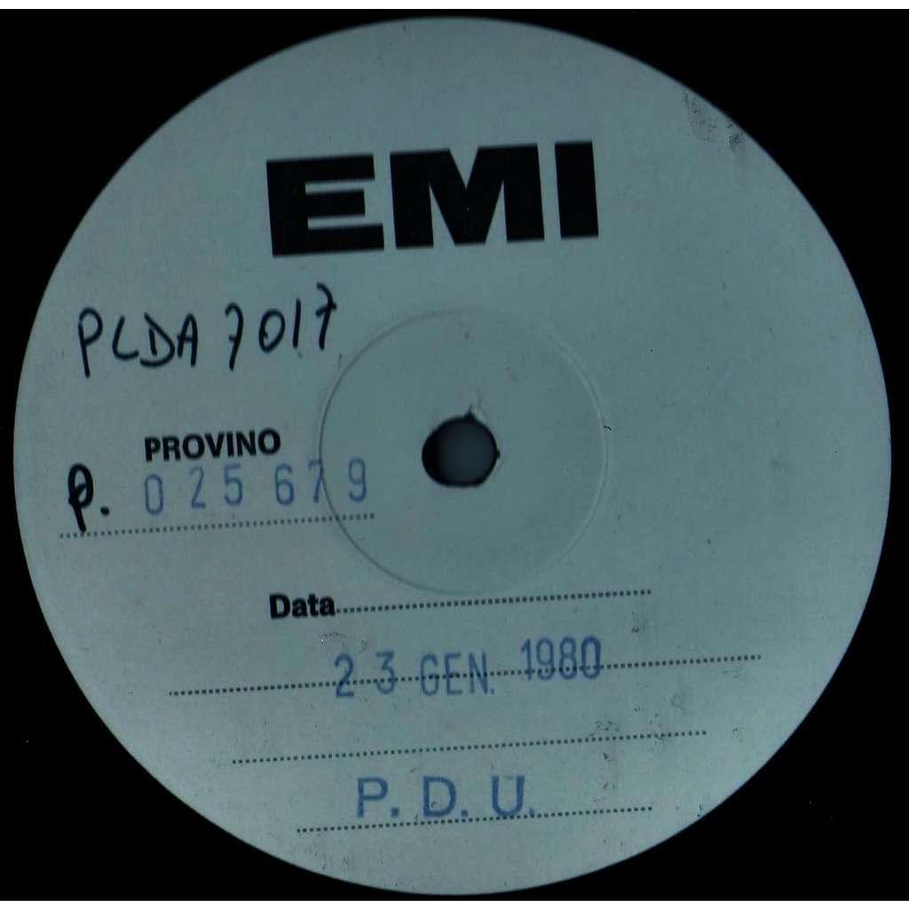 Rudy Brass Frog's Jump (Italian 1980 w/label 8-trk LP TEST PRESS on EMI-PDU lbl)