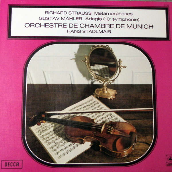 Hans Stadlmair Strauss - Mahler
