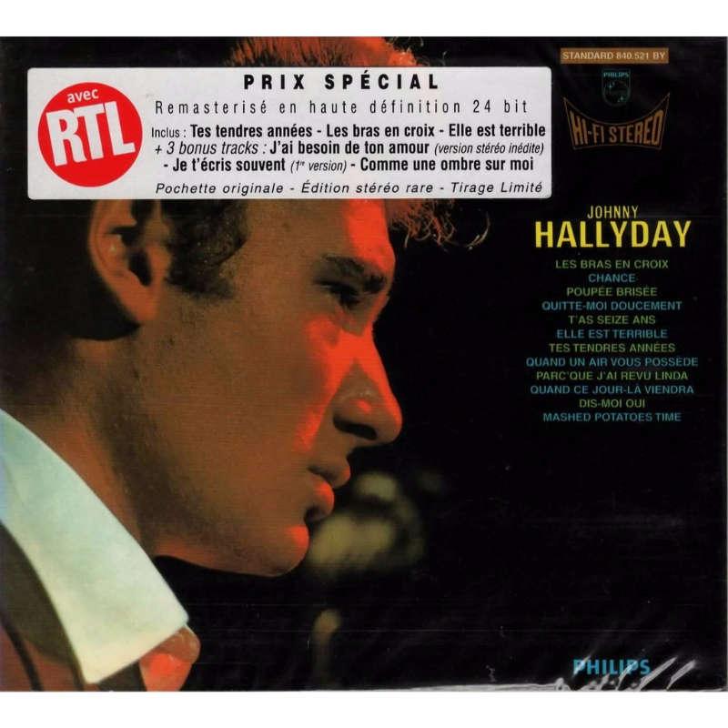 Johnny Hallyday N 4 Les Bras En Croix
