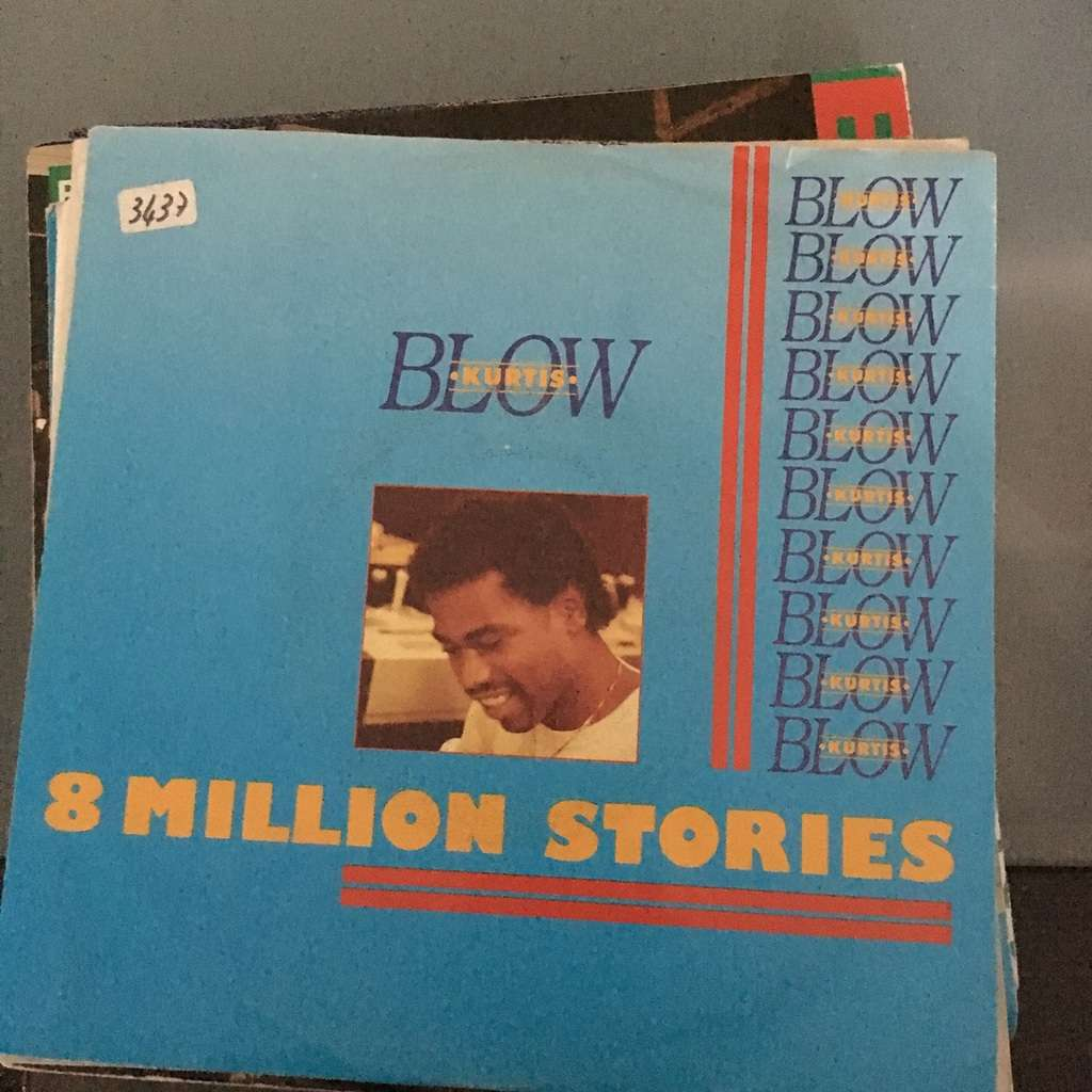KURTIS BLOW 8 million stories (bleeped) / same