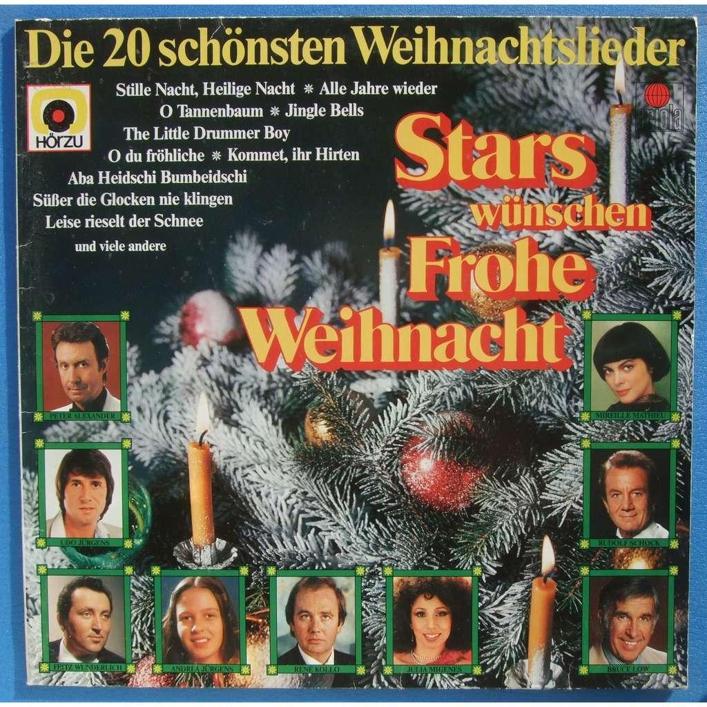 Stars Singen Die Schönsten Weihnachtslieder.Rudolf Schock Peter Alexander A O Stars Singen Zum Weihnachtsfest Die 20 Schönsten Weihnachtslieder