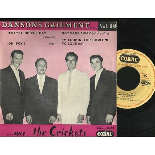 crickets buddy holly dansons gaiement vol 14 ORIGINAL