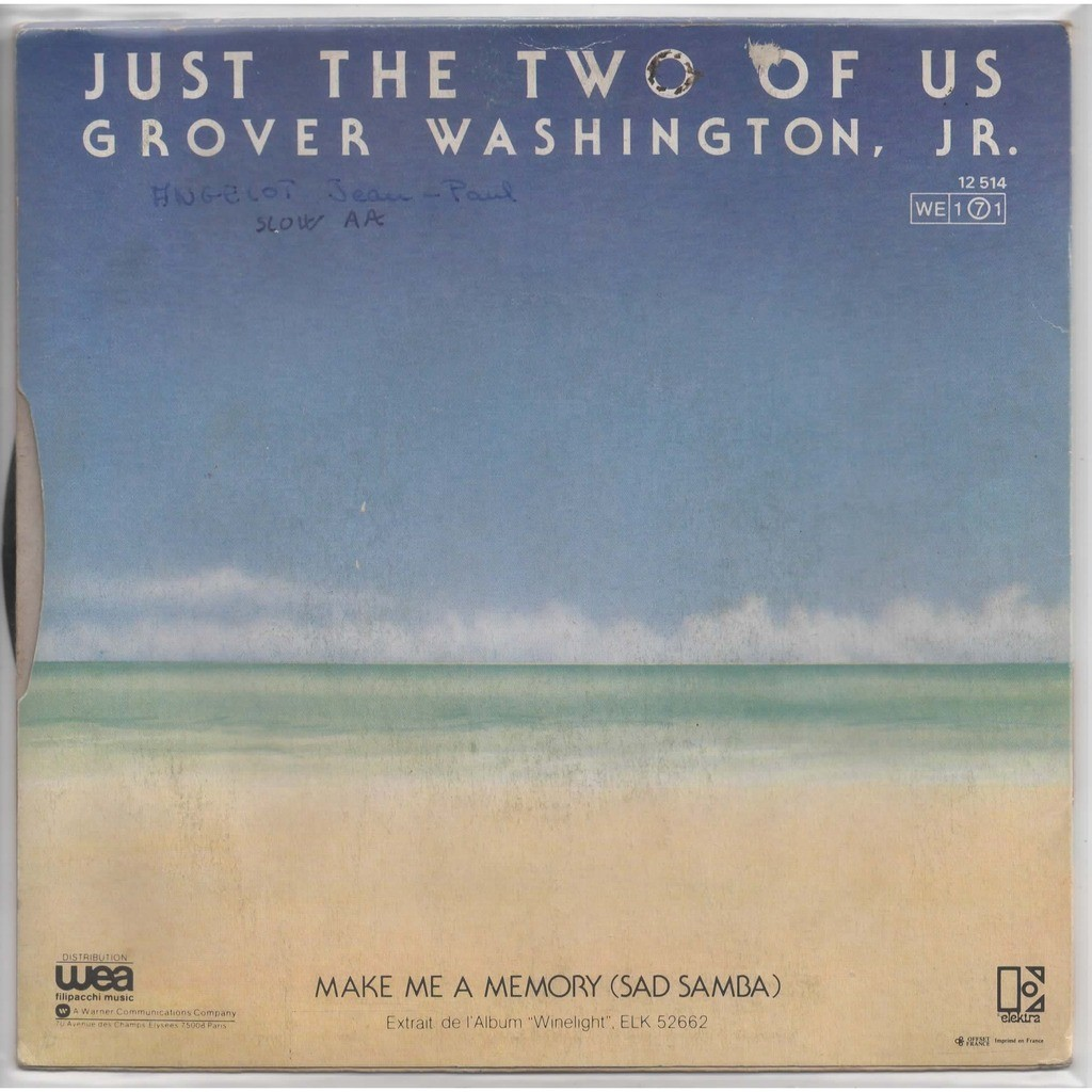 Just The Two Of Us By Grover Washington Jr Bill Withers Sp With Eric5152