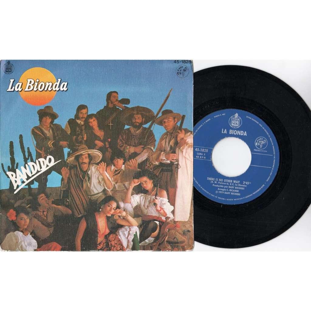 La Bionda Bandido (Spanish 1979 2-trk 7single full ps)