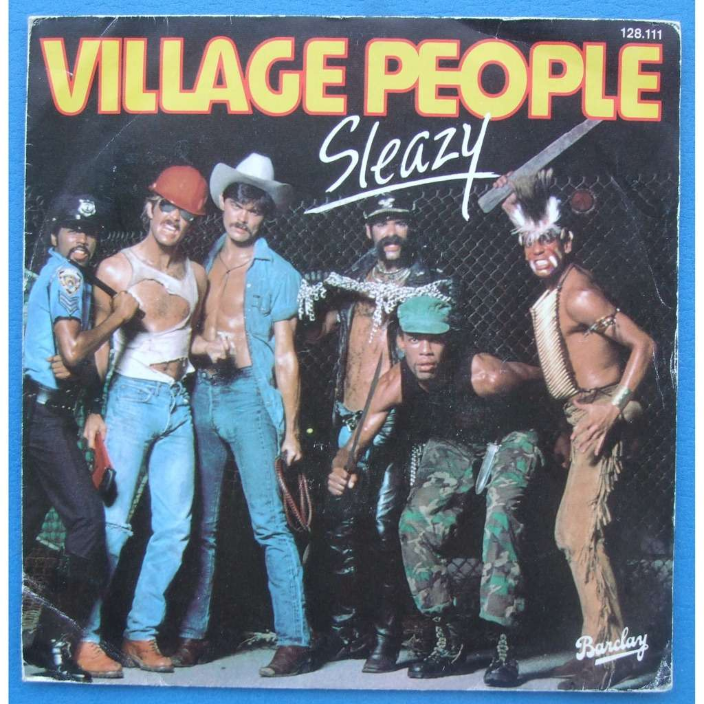 VILLAGE PEOPLE SLEAZY / SAVE ME ( up-tempo )