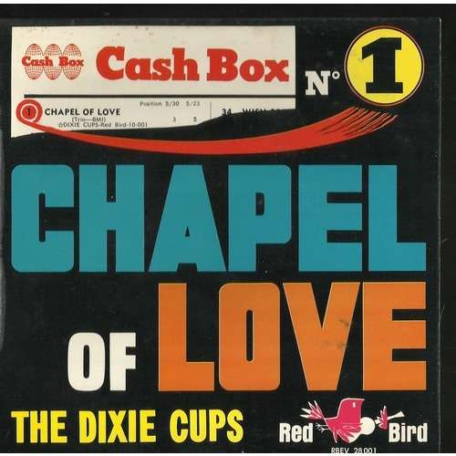dixie cups jersey red chapel of love