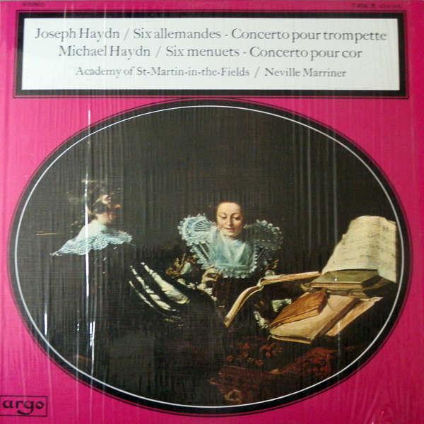 Neville Marriner Joseph & Michael Haydn