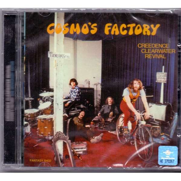 Cosmo S Factory By Creedence Clearwater Revival Cd With