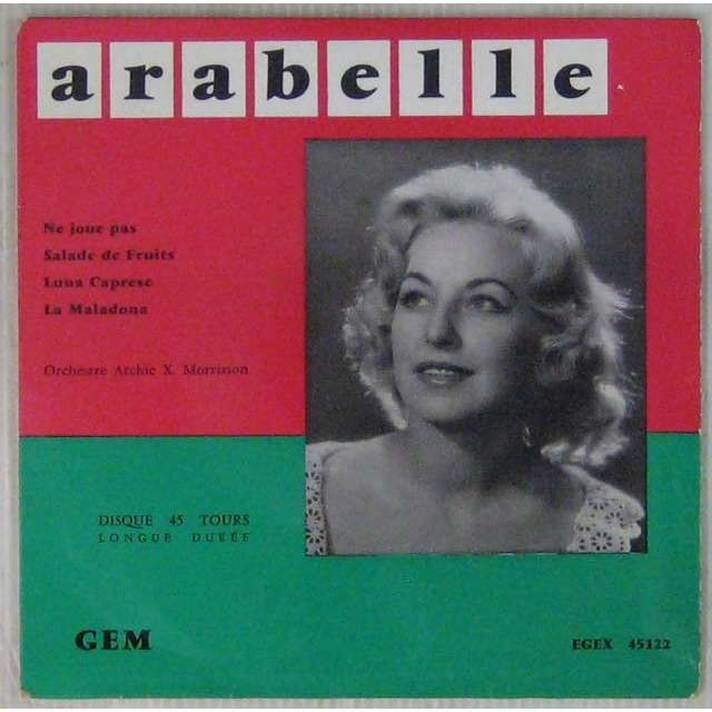 Arabelle Ne joue pas