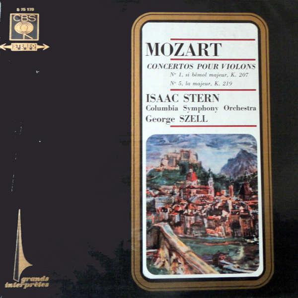 Isaac Stern Mozart