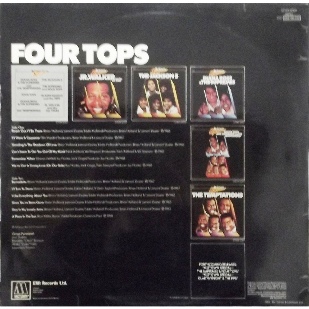 Four tops Four tops - reach out i'll be there (Motown Special)