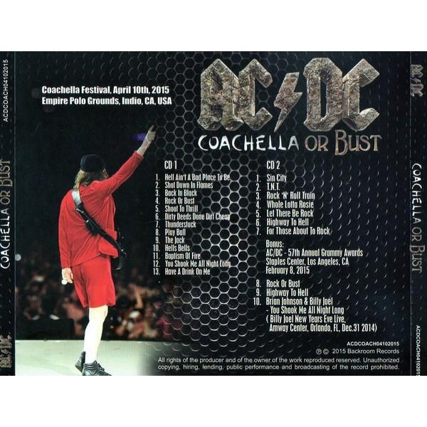 AC/DC Coachella Or Bust (2xcd)